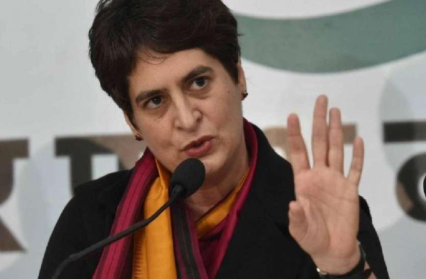 प्रियंका गांधी ने सरकार के सामने रखी ये तीन मांगें, कहा- हमारी भारत माता रो रही हैं, आप मौन हैं