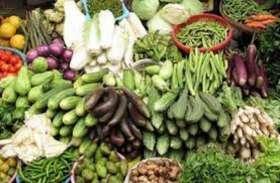 सब्जियों की बिक्री पर कोरोना हावी, मंडी में फुटकर व्यापारी नदारद