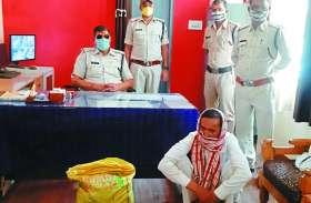 18 किलो विस्फोटक के साथ युवक गिरफ्तार