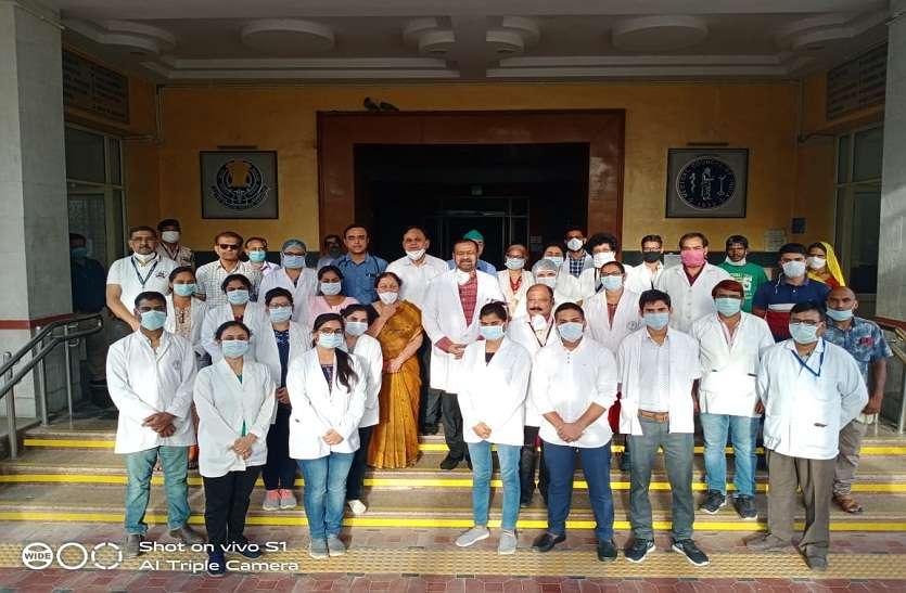एसएमएस मेडिकल कॉलेज में अब तक हुई 1 लाख कोरोना जांच