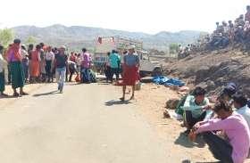 रोसर गांव में पिकअप वाहन अनियंत्रित होकर पलटा, 3 की मौत, 33 लोग घायल