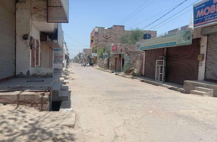 आठ दिनों से कफ्र्यू,मजदूर मजबूरी में घरों में कैद