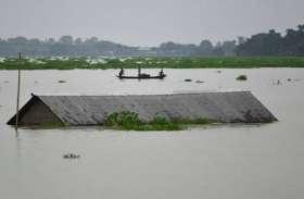 ब्रह्मपुत्र रौद्र रूप में, असम में 3 लाख लोग आए बाढ़ की चपेट में