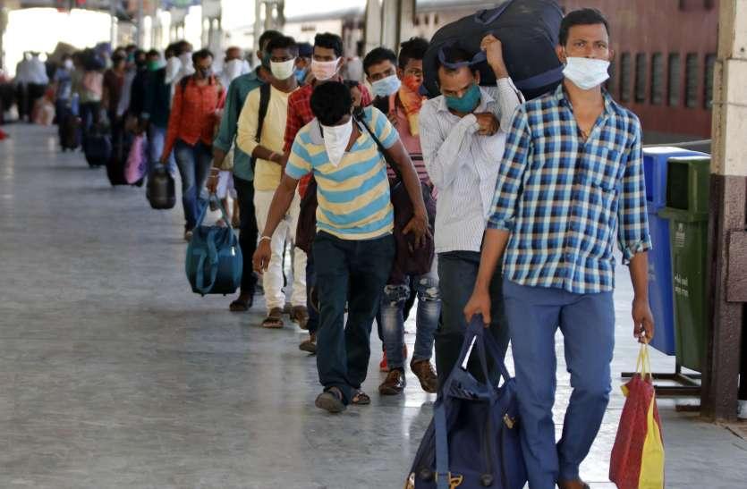 Lockdown 4.0: 14 लाख से ज्यादा प्रवासी श्रमिक गुजरात से अपने वतन रवाना