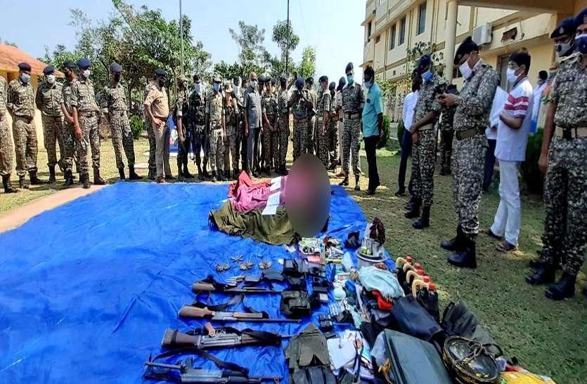 झीरम घाटी हमले के तार जुड़े राजनांदगांव से, कर्मा के PSO से लूटा गया एके-47 राइफल नक्सलियों से किया बरामद