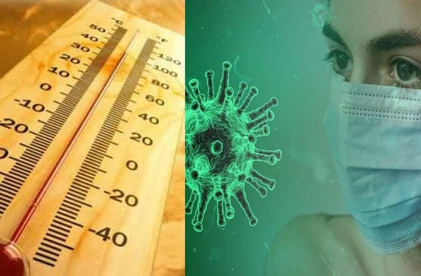 छत्तीसगढ़ में 46 डिग्री पहुंचा तापमान, फिर भी जिंदा है कोरोना वायरस