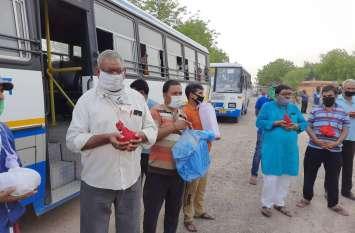 Rajasthan Roadways की पहल: मोक्ष कलश स्पेशल निशुल्क बस सेवा, 583 मोक्ष कलश विसर्जित