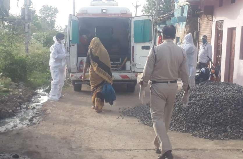 विदिशा जिले में  दो दिन में सात कोरोना पॉजिटिव, एक ही परिवार के 5 सदस्य संक्रमित