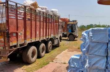 खाकी वर्दी को देख ट्रक चालक के उड़ गए होश, मुलमुला पुलिस ने 30 लाख का गुटखा व तंबाकू किया जब्त