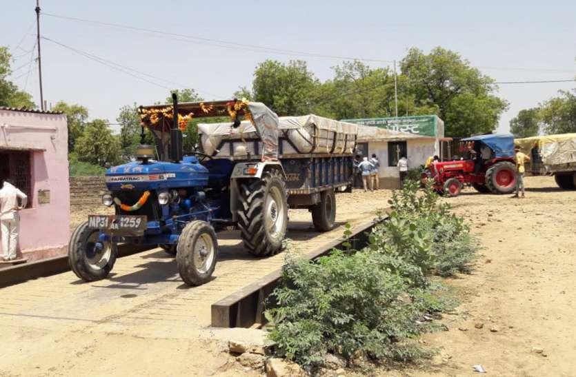 तीन दिन के लिए खुला पोर्टल, श्योपुर-बड़ौदा में तुलाई शुरू