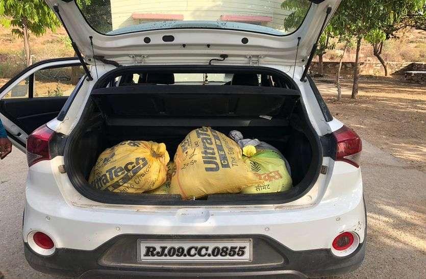 टोल नाकों पर दबिश देकर जब्त की 231 किलो अफीम, 58 क्विंटल डोडा चूरा