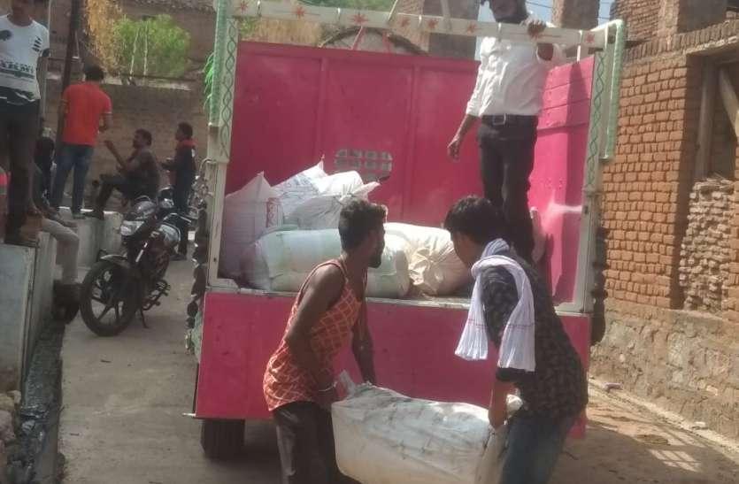 महाराजपुर में पुलिस ने की गुटखा फैक्ट्री में छापामार कार्रवाई, भारी मात्रा में सामग्री जप्त