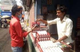 एक सप्ताह में शहर के लोग खा जातेे हैं पचास हजार अंडे