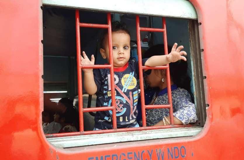 Breaking बेंगलूरु से आई श्रमिक स्पेशल, 14 जिलों के 390 श्रमिक उतरे