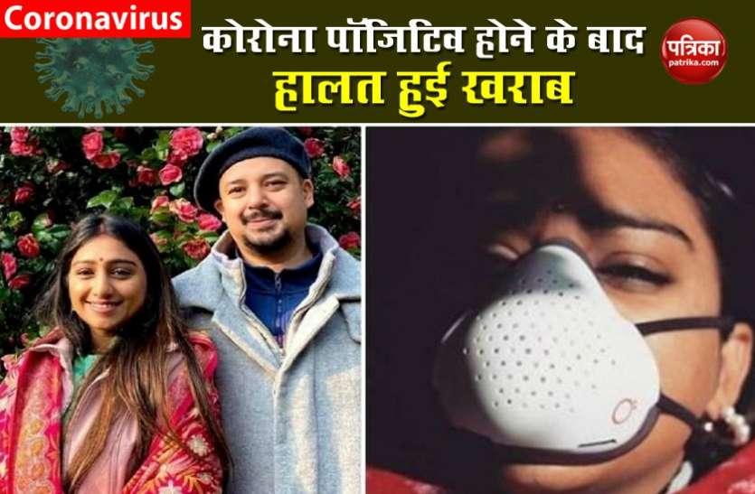कोरोना पॉजिटिव Actress Mohena Kumar ने बताई अपनी आप बीती, बोलीं, सो नहीं पा रहीं हूं