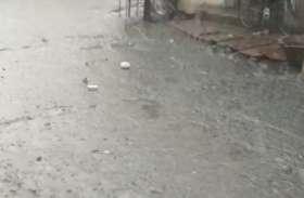 प्री मानसून: भारी बारिश के बाद लोगों को गर्मी से मिली निजात, तापमान में गिरावट
