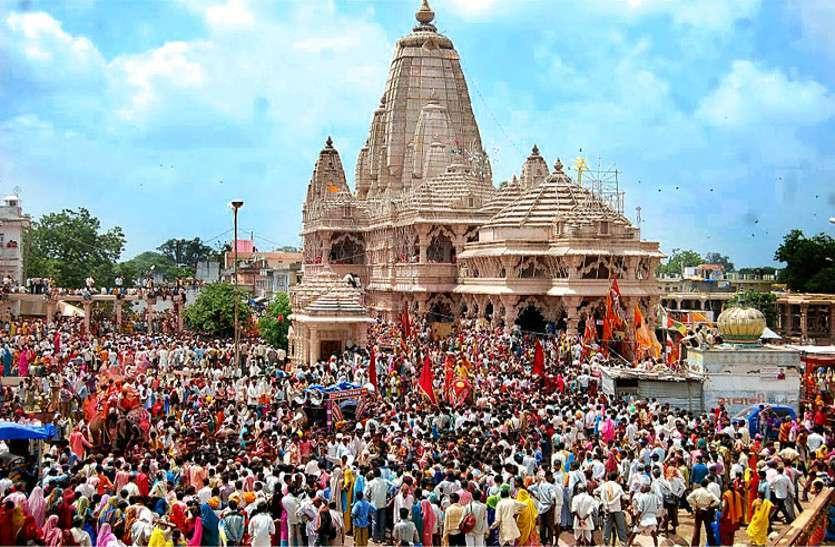इतिहास में पहली बार निर्जला एकादशी पर सांवलियाजी मंदिर में नहीं निकाला जाएगा भगवान का बेवाण