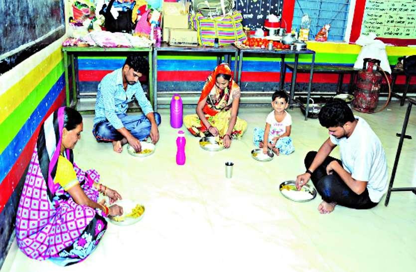 मुंबई के रेड रोन से आए प्रवासी श्रमिकों को रानीतराई सेंटर में मिली अच्छी सुविधा ...