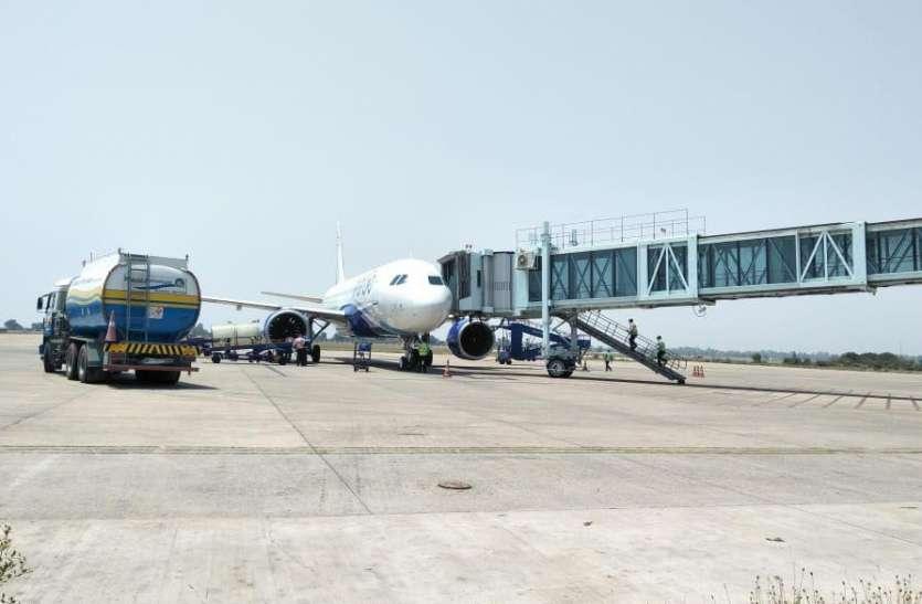 गुलजार हुआ रायपुर का माना एयरपोर्ट, एक हफ्ते में 66 उड़ानें, 5896 यात्रियों ने किया सफर