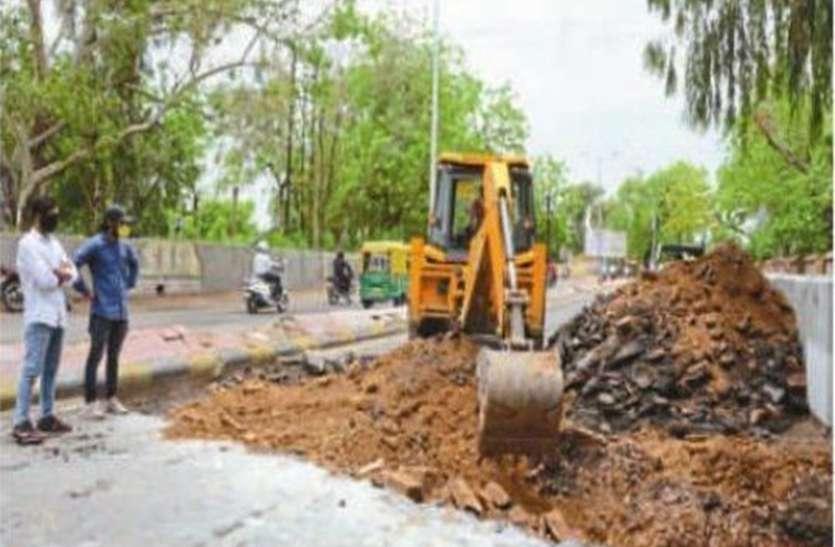 कोरोना साइड इफेक्ट : इस साल भी मानसून में फिर भरेगा जोधपुर की सड़कों पर पानी