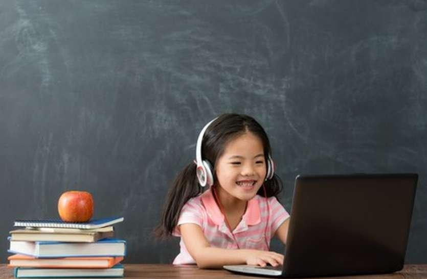 ऑनलाइन स्टडी का क्रेज बढऩे के साथ ही मोबाइल व लैपटॉप हुए बच्चों के लिए बुक