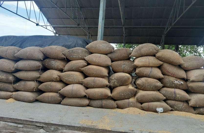 धानमंडी में ट्रैक्टर-ट्रॉली यूनियन का गोदाम को लेकर विवाद, एक बार गेहूं का उठाव रोका