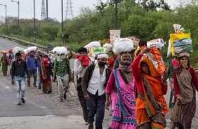 मजदूरों की वापसी से पुलिस को अपराध बढ़ने का डर, सरकार रोजगार देने की कवायद में जुटी