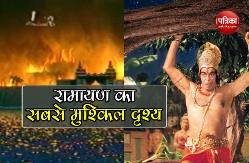 Ramayan में लंका दहन के सीन के लिए भूखे पेट घंटों अभ्यास करते थे Dara Singh, दृश्य को शूट करना था कठिन