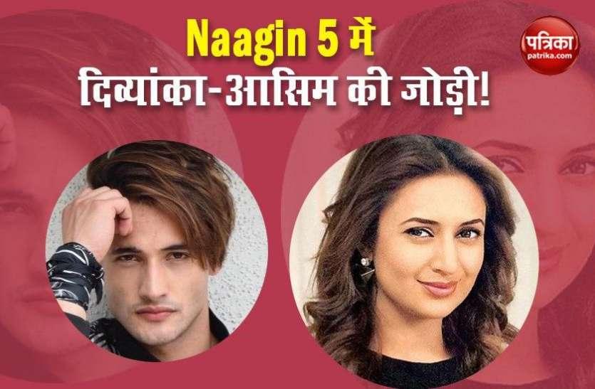 Naagin 5: एकता कपूर के सीरियल के लिए बनी Divyanka Tripathi और Asim Riaz की जोड़ी तो एक्ट्रेस ने बताया सच