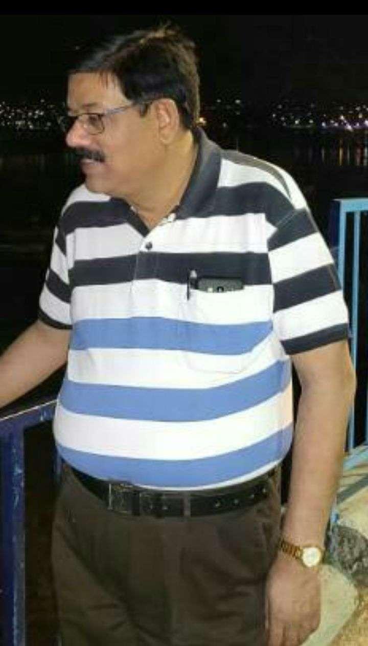 Removed CMHO Dr.KK Srivastav