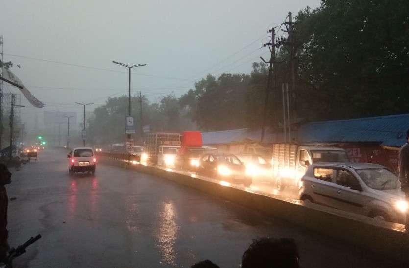 मानसून ने छत्तीसगढ़ में दी दस्तक, राजधानी में झमाझम बारिश शुरू, अगले 48 घंटे भारी वर्षा की चेतावनी