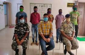 शोषण और अत्याचार से तंग आकर 5 नक्सलियों ने किया आत्मसमर्पण, 12 लाख के तीन इनामी शामिल