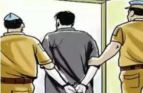 मंदिर में चढ़ाया नारियल, धोक देकर चुरा लिया छत्र, दो गिरफ्तार