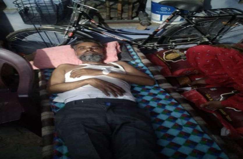एमबीएस अस्पतालमें भाई को भर्ती करवाने के लिए आठ घंटे घूमती रही बहन