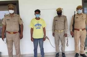 बुलंदशहर: नग्न अवस्था में नहाने से टाेका ताे गाेली मारकर कर दी हत्या, आराेपी गिरफ्तार