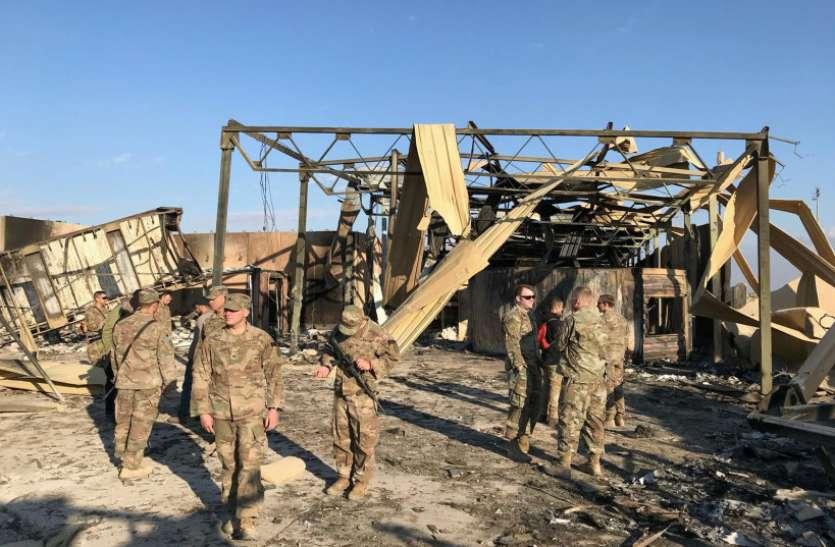 Bagdad में सैन्य अड्डे के पास दो रॉकेट दागे, कई इमारतों को पहुंचा नुकसान