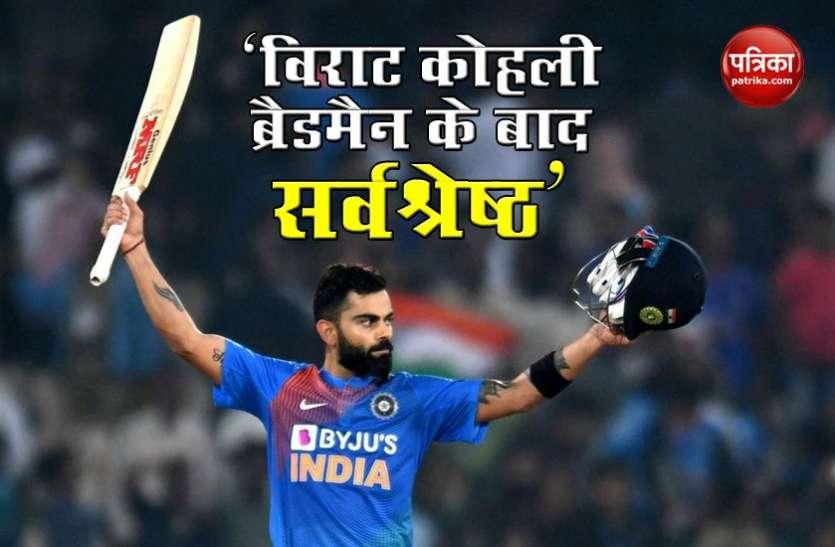 Kumar Sangkkara को है Virat Kohli पर भरोसा, Don Bradman के बाद बन सकते हैं महान बल्लेबाज