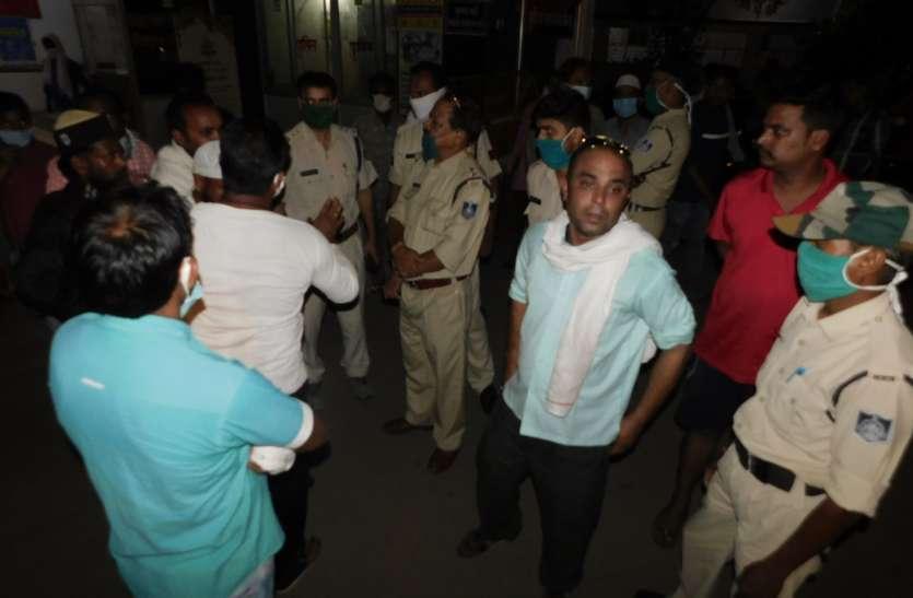 मरीज की अस्पताल में मौत, परिजनों ने डॉक्टरों पर लापरवाही का लगाया आरोप