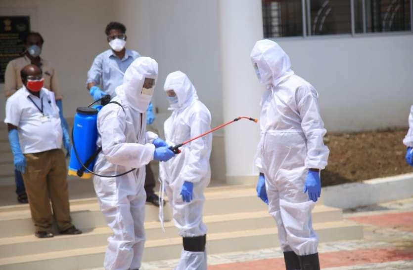 तमिलनाडु मुख्यमंत्री कार्यालय के अधिकारी की कोरोना संक्रमण से मौत