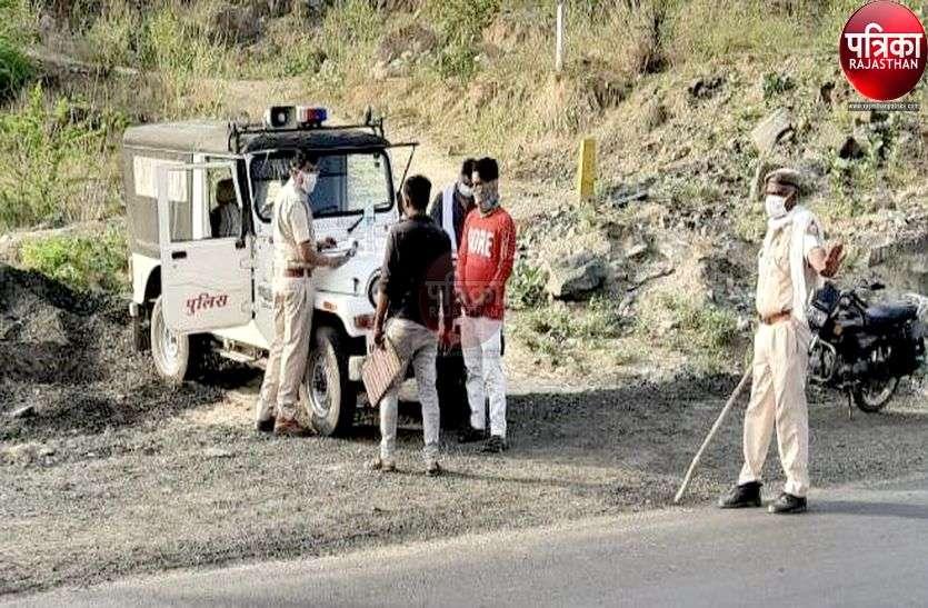 यहां पुलिस ने दिखाई एक दिन की सख्ती, परिवहन व खनिज विभाग अब भी मौन