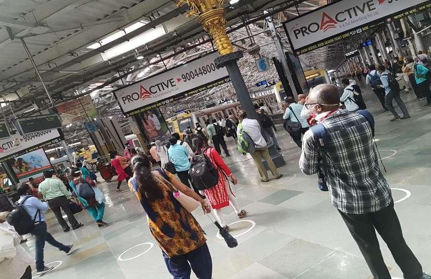 Mumbai Local Train : 75 हजार लोगों ने किया लोकल का सफर