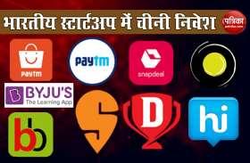 India में आपकी सबसे Favorite Startup Companies में लगा है China का निवेश, जानिए कौन से हैं Brands