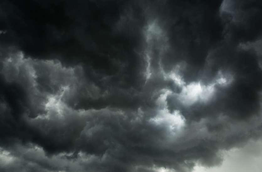 Monsoon Alert : मानूसनी बादलों ने दिखाई बारिश की झलक, अब शहर में होगी झमाझम बारिश