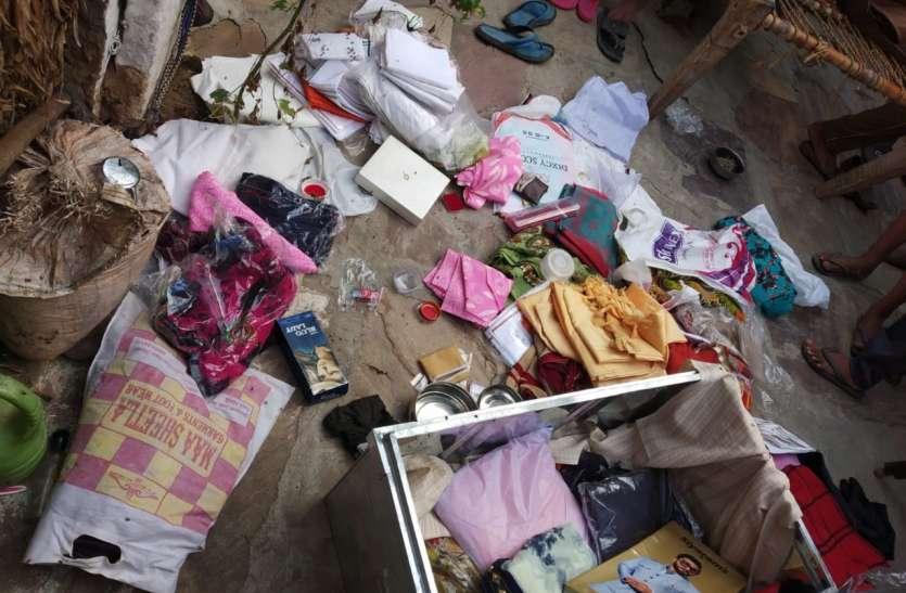 कुम्हेरी में दूध कारोबारी के यहां से 22 तोला जेवर व 60 हजार की नगदी चोरी