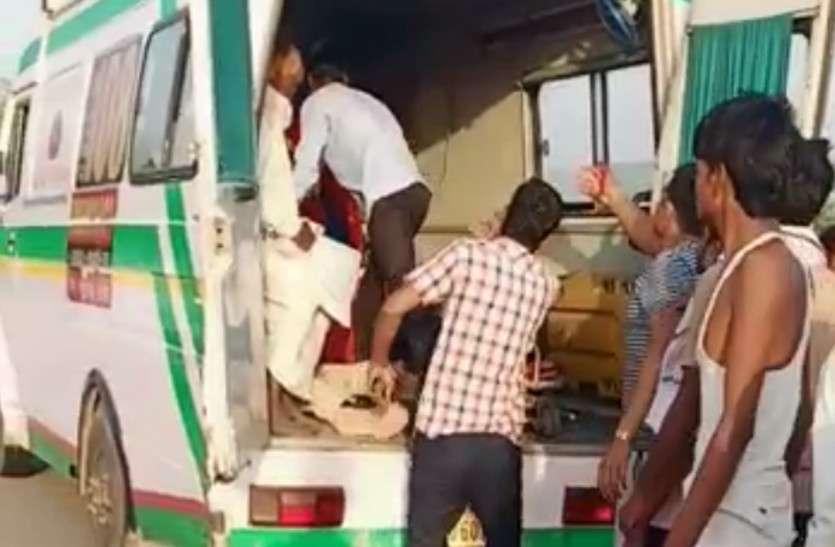 दर्दनाक हादसा: ट्रैक्टर को ओवरटेक करने में जीप-जुगाड की भिड़ंत, तीन की मौत, 6 जख्मी