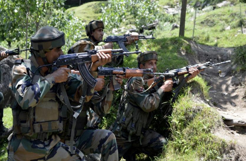 पाकिस्तान की नापाक हरकत, किया सीज फायर का उल्लंघन, भारतीय सेना की जवाबी कार्रवाई