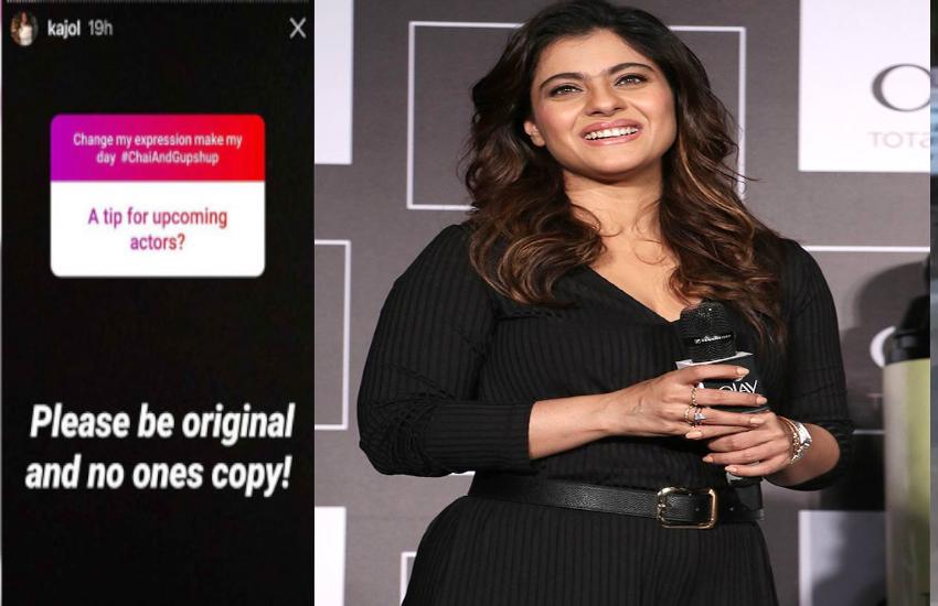 Kajol's Tip For Newcomer Actors: Be Original, No One's Copy