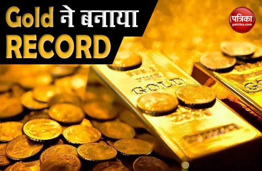 भारत में Gold Price ने बनाया Record, Silver में भी उछाल, जानिए New York और London का हाल