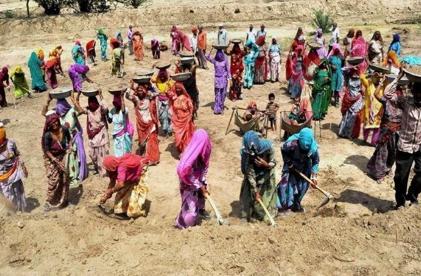 अब अपने ही गांव में मिल रहा रोजगार, मनरेगा से 23 लाख लोगों को मिला काम