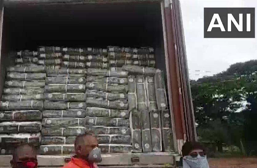 यहां पकड़ा गया हजारों किलो बीफ, कोलकाता से ले जा रहे थे महाराष्ट्र